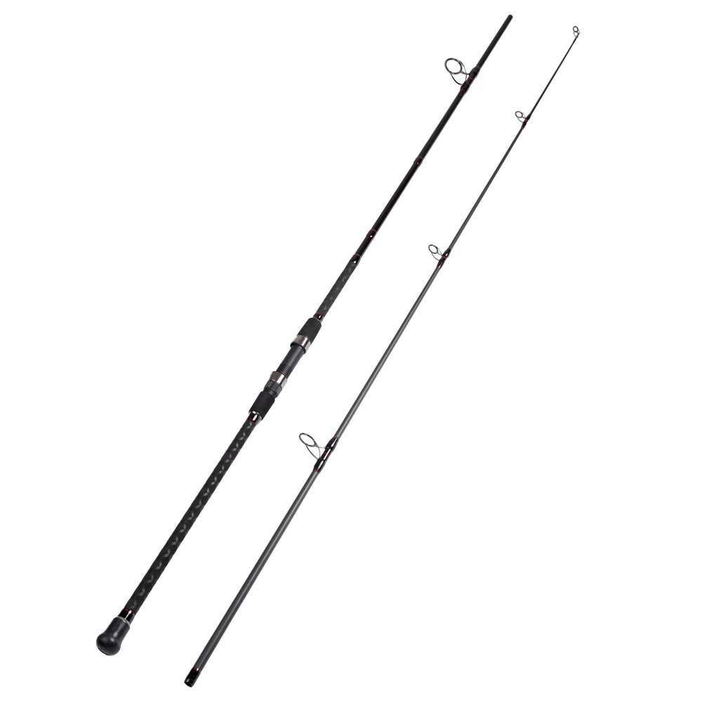 Fiblink Surf Spinning Fishing Rod 2 Piece Graphite Travel