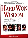 Hard Won Wisdom, Fawn Germer, 0399527117