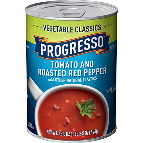 Progresso Vegetable Classics Tomato & Roasted Red Pepper Soup (Pack Of 12)
