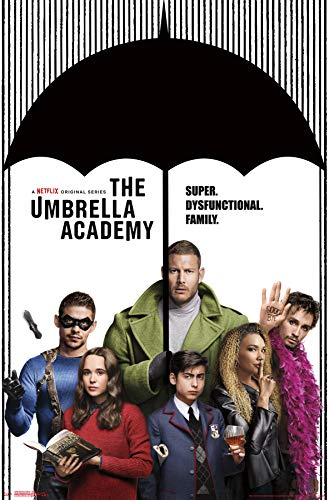 Trends International Umbrella Academy - Group Wall Poster, 22.375