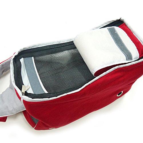 Dogo Boxy Messenger Bag - Red