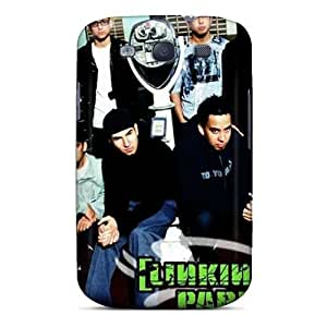 Best Cell-phone Hard Cover For Galaxy S3 With Unique Design Trendy Linkin Park Image Cases-best-covers