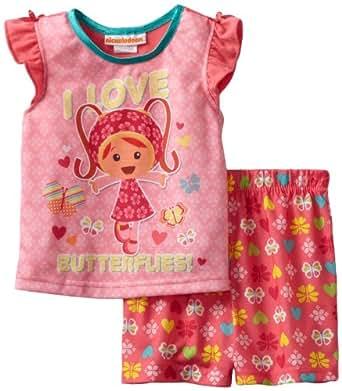 Team Umizoomi Toddler Pink Pajamas, Multi, 3T