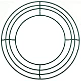 "Wire Wreath Frame 12""-green"