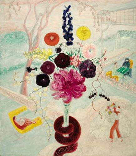 Oil Painting 'Florine Stettheimer,Birthday Bouquet,1932', 24 x 28 inch / 61 x 70 cm , on High Definition HD canvas prints is for Gifts And Game Room, Hallway And Study - Outlets Tanglewood