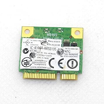 dw1702 Atheros AR5B195 inalámbrica WiFi N Bluetooth BT 3.0 ...