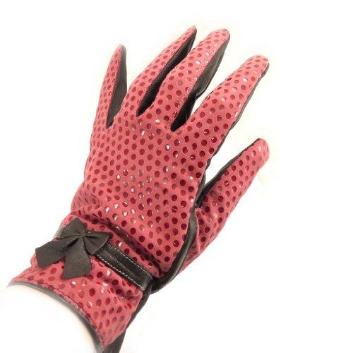 [リリーの宝 (Les Tresors De Lily)] (Scarlett コレクション) [K7596] 手袋 レッド