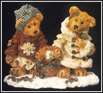 Edmund & Bailey...Gathering Holly