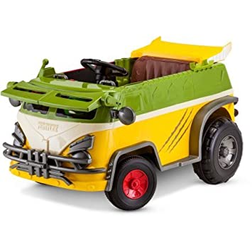Amazon.com: Teenage Mutant Ninja Turtles 6 V Party Wagon ...