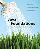 img - for Java Foundations: Introduction to Program Design and Data Structures by John Lewis (2007-03-09) book / textbook / text book