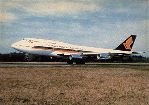 boeing-747-312-singapore-airlines-aircraft-original-vintage-postcard