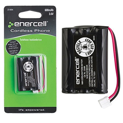 Enercell 3.6V/600mAh Ni-MH Cordless Phone Battery (2300894) by Enercell
