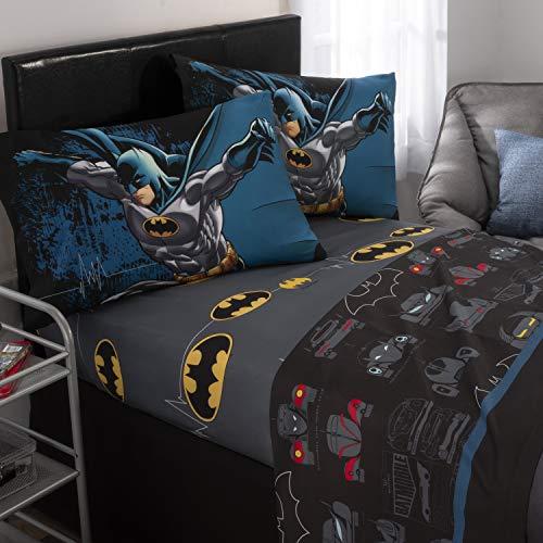 Warm Soft Cozy Comfortable Batman Toddler Kids Full Bedding