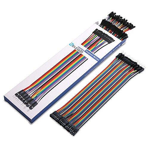 Elegoo el cp pcs multicolored dupont wire pin
