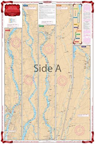 Waterproof Charts, Standard Navigation, 11 Champlain Canal & Southern Lake Champlain