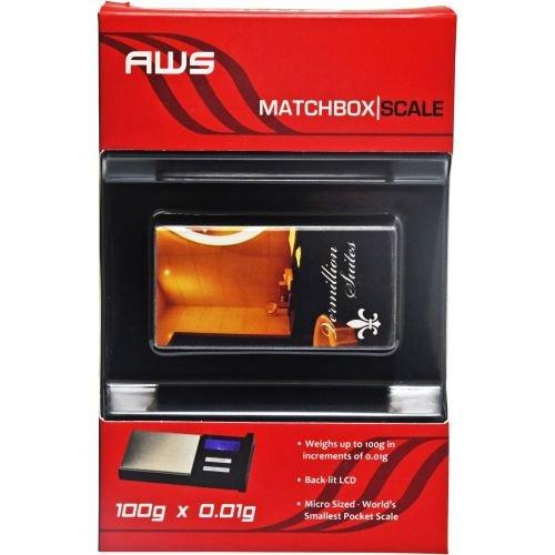 AWS MB-100-HOTEL AMW MATCHBOX SCALE 100 X .01G HOTEL