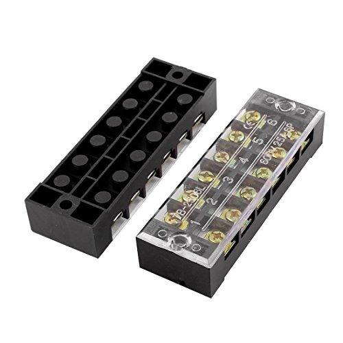 6 position electrical connector - 6