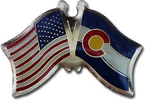 (ALBATROS Pack of 24 USA American Colorado State Flag Lapel Pin for Bike Hat and Cap for Home and Parades, Official Party, All Weather Indoors Outdoors)