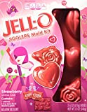 Jell-O Valentines Jigglers Hearts and Flowers Mold Kit