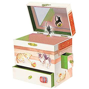Amazoncom Enchantmints Curious Kittens Musical Jewelry Box Baby