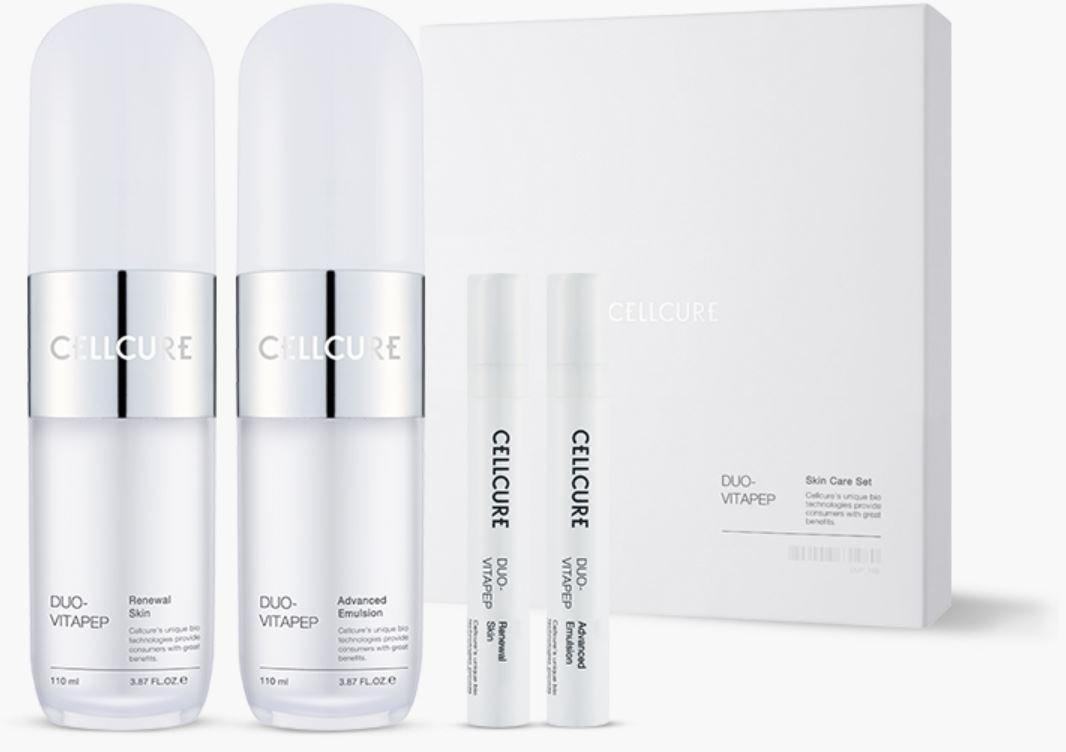 Cellcure Duo-Vitapep Skin Care Set セルキュアデュオヴィータペップスキンケアセット(110ml + 110ml ) B078XQBPQY
