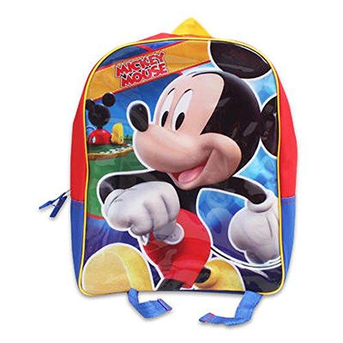 "Disney Mickey Mouse 15"" Medium Backpack Bag"