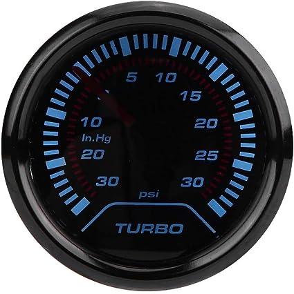 Dewin Ladedruckanzeige Turbolader Universal 52 Mm Auto Rauchmelder Mit Turbolader Ladedruckanzeige Auto