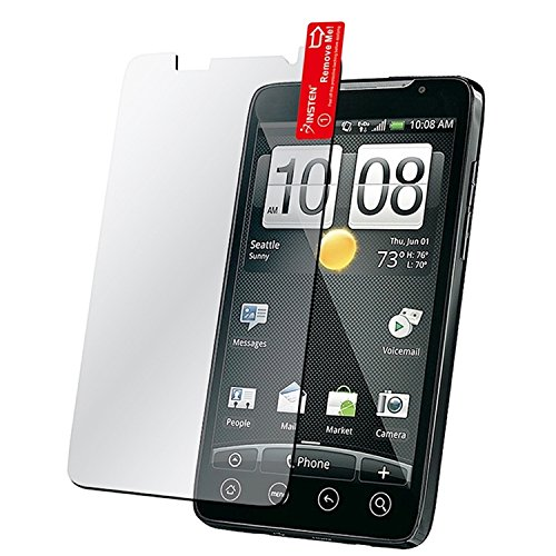 HTC Evo 4G Crystal Clear Screen Protector (Crystal 4g Evo Htc)