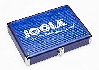 Joola - Coffret housse Alu pour raquette de ping pong tennis de table - Bleu