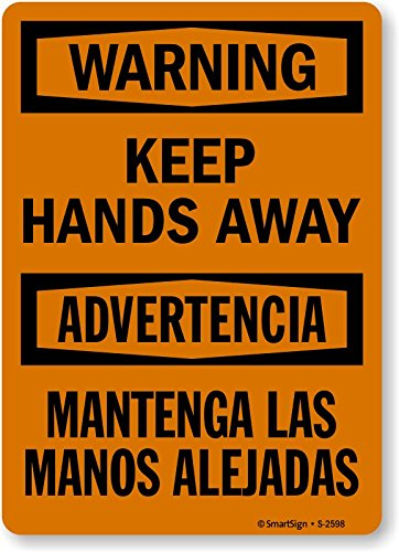 Bilingual Hazard Warning Labels (SmartSign