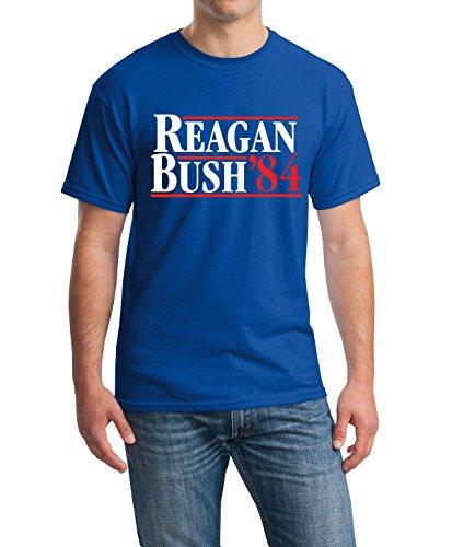 New York Fashion Police Reagan Bush '84 Campaign T-Shirt Campaign Tee New York Fashion Police M
