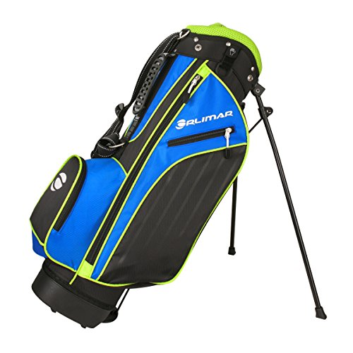 Orlimar Golf ATS Junior Boy's Blue/Lime Golf Stand Bag (Ages 5-8)