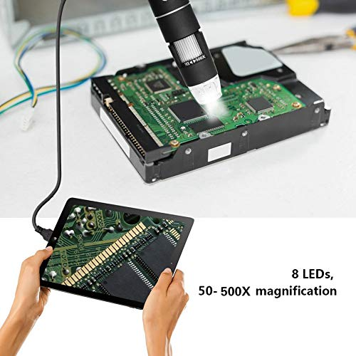 Ningbao Multifuncional 30M im/ágenes Microscopio Digital port/átil port/átil ypc-x1