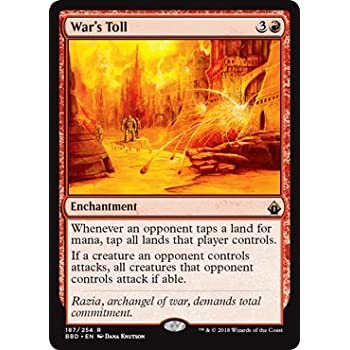 Overig War's Toll ~ Battlebond ~ MINT/NearMint ~ Magic The Gathering kaartspellen