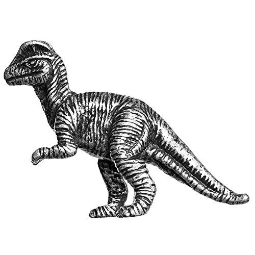 (Big Sky Hardware Sierra Lifestyles Dilophosaurus Dinosaur Knob, D6, Pewter)