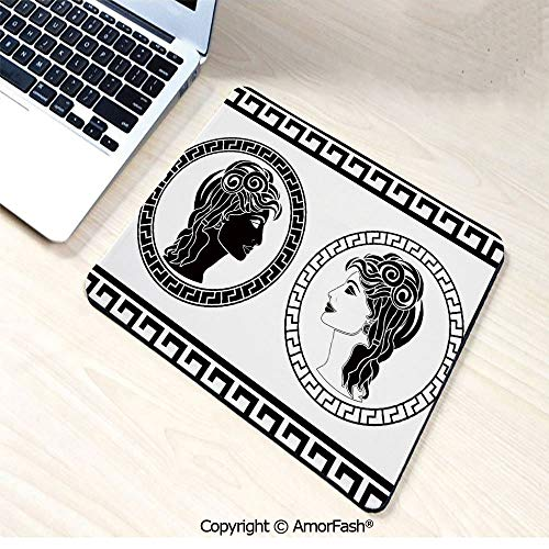 Mouse Pad,Gaming Speed Version Medium Cloth Mouse Mat,Non-Slip Rubber Base Mousepad,for Laptop,11