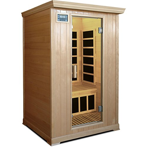Crystal Sauna FWH200 2-Person Family Infrared Sauna
