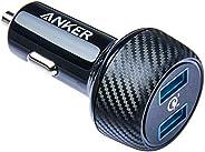 Carregador Veicular Anker PowerDrive Speed, Compatível com Qualcomm Quick Charge 3.0, 2 portas USB, 39W de pot