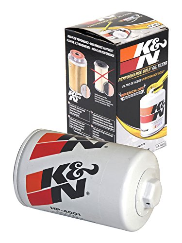 HP-4001 K&N Performance Oil Filter; AUTOMOTIVE (Automotive Oil Filters):