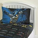 Batman Bedding Set Twin Size Sheet Set Flat Sheet Fitted Sheet Standard Pillowcase