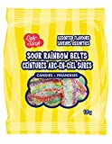 Lady Sarah Sour Rainbow Belts Candy Bag 120G Per Bag