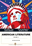 American Literature, Cain, William E. and Chiasson, Dan, 0321838637