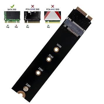 QNINE M.2 Adaptador NGFF SATA a A1465 A1466 (Solo 2012) para el ...