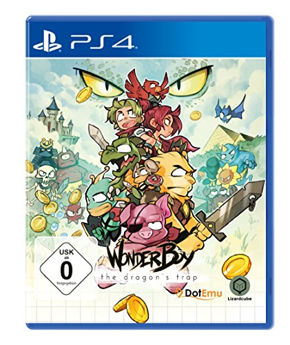 Price comparison product image Wonder Boy: The Dragon's Trap (PlayStation PS4)