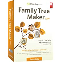 Family Tree Maker 2009 Essentials [OLD VERSION]