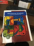Cover of Marketing Analysis: Department of Marketing Ninth Edition
