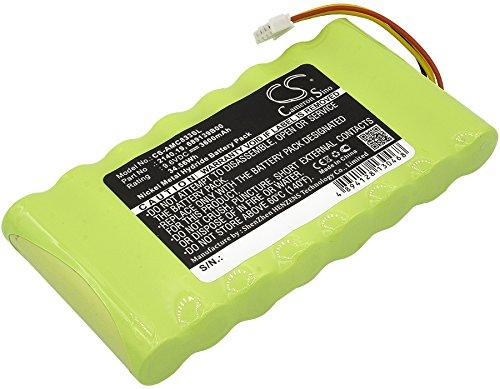 Cameron Sino Replacement Rechargeable Battery fit for AMC OX Oscilloscopes,CA6116,CA6550,CA6555 (3600mAh) (General Oscilloscopes)