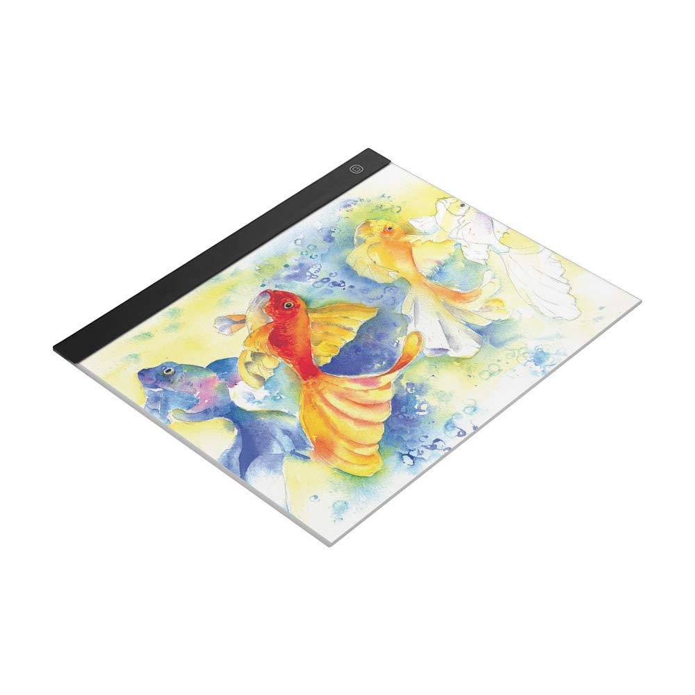 Aibecy LED A3 Light Panel Graphic Tablet Light Pad Digital Tablet Copyboard with 3-Level Dimmable Brightness for Tracing Drawing Copying Viewing Diamond Painting Supplies by Aibecy