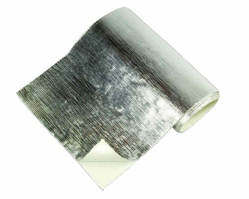 Thermo-Tec 13575 Adhesive Backed Aluminized Heat Barrier, 12