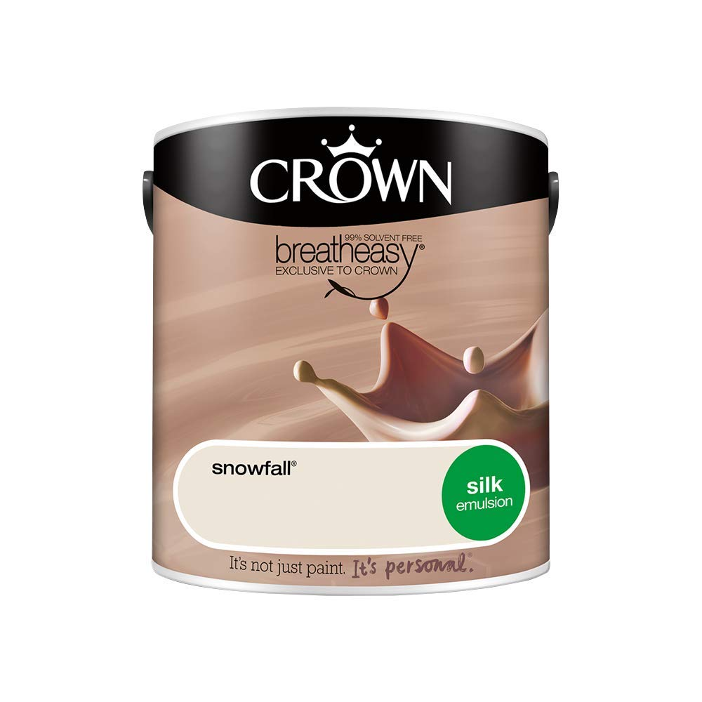 Crown Retail Core Emulsion Silk Snowfall 2.5 L Crown Paints 5051756